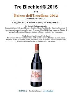 2015 tre bicchieri gambero rosso bricco uccellone braida top red italian wine it_ing anteprima guide vino 2015