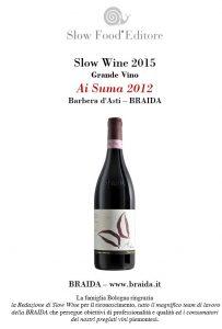 slow wine 2015 vino ai suma 2012 braida bologna barbera top jpg