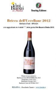 vini buoni d italia 2015 Bricco dell Uccellone 2012