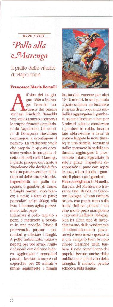 """da """"Buon Vivere"""" Pollo alla Marengo di Francesco Maria Borrelli"""