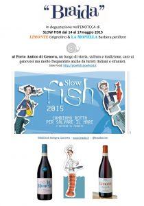 slow fish 2015 vino weine BRAIDA piemonte